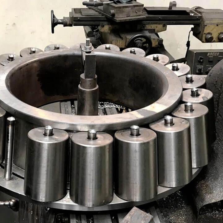 Rolamento Axial Rolo Cônico - Moinho Vertical - Usinagem Reforma Recondicionamento Fabricação