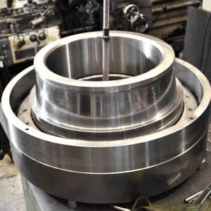 Rolamento Radial Rolo Cônico - Moinho Vertical - Usinagem Reforma Recondicionamento Fabricação