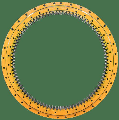 Rolamento GIRO Engrenado Trator Escavadeira - Reforma e Fabricação de Rolamentos Especiais