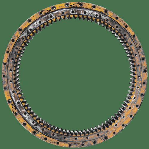 Rolamento Engrenado Trator Escavadeira - Reforma e Fabricação de Rolamentos Especiais