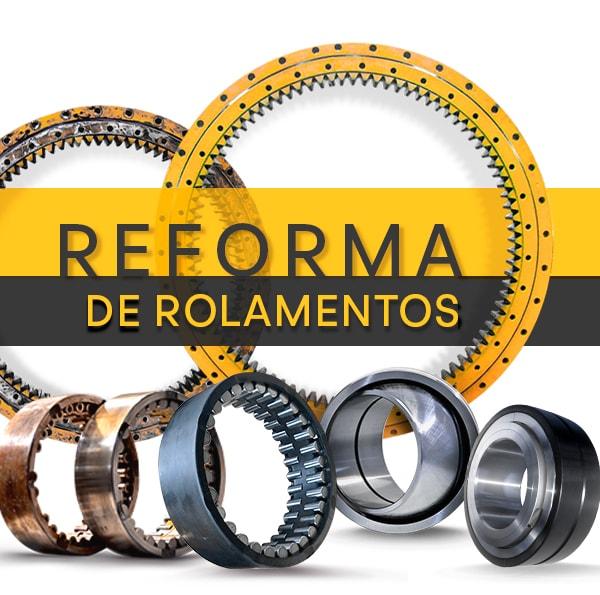 Reforma de Rolamentos Especiais - Recondicionamento, Manutenção Preventiva & Programada