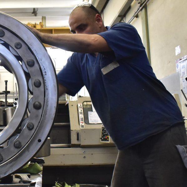 Reforma de Rolamentos Industriais de Grande