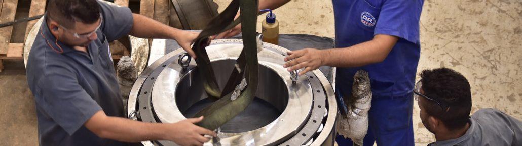 AR Rolamentos: Fabricante, Reforma, Revenda -São Paulo, Brasil